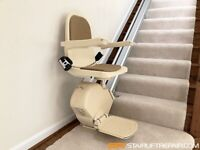 ACORN/BROOKS/STANNAH Straight & Curved Fully Fitted Stairlifts