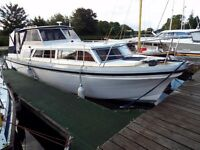 Princess 32 Cabin Cruiser with Diesel Inboard Engine,Recently Refurbished and in Nice Order