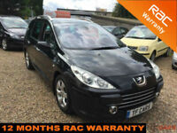 2008 Peugeot 307 SW 1.6HDi ,,new cam belt,,PANORAMIC ROOF,, FINANCE AVAILABLE