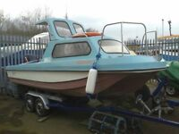 17ft Wilson Flyer boat ready to go PX welcome