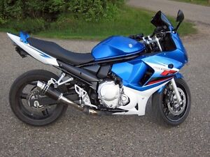 GSXF 650 for sale