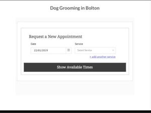 Dog Grooming Available