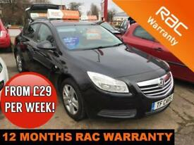 2012 12 Vauxhall/Opel Insignia 2.0CDTi 16v (130p ) Exclusiv FINANCE AVAILABLE