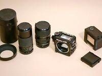 Mamiya 645 super professional camera medium format kit with lenses