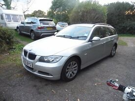 STUNNING BMW 320 DIESEL TOURING 55 PLATE FULLY LOADED