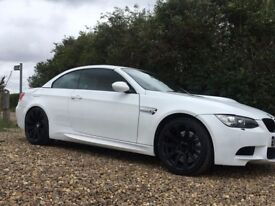 BMW M3 E93 CONVERTIBLE 2008 58 4.0 V8 WHITE RED LEATHERS