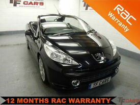 Peugeot 207 CC (CONVERTIBLE) 1.6 Coupe GT - FINANCE FROM ONLY £19 PER WEEK!
