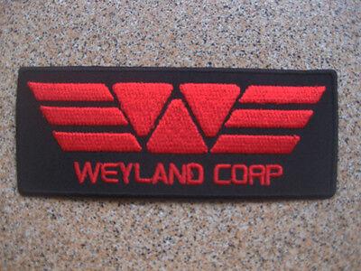 Red Alien Prometheus Weyland Yutani Corporation Patch Badge