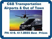 C&B Transportation Always Pay Less than Taxi, Uber or Lyft