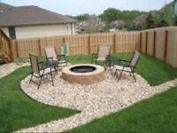Leaf / yard waste removal property maintenance landscape