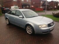 2002 - Audi A6 1.9 TDI SPORT - Pearl Blue - 5 Speed manual - 17 Alloys ( SPARES OR REPAIRS )