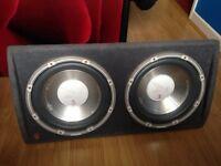 £80 FLI BASS BOX AND AMP VERY LOUD £40