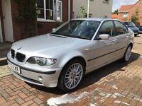 03 '52' BMW 320d SE 103K FULL MOT LEATHERS MV1s 50MPG PLUS