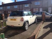 Mini cooper 1.6 6 speed 2007 swap px w.h.y