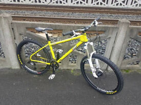 RAGLEY BLUE PIG X9 HARDTAIL BIKE MAY PX £550.