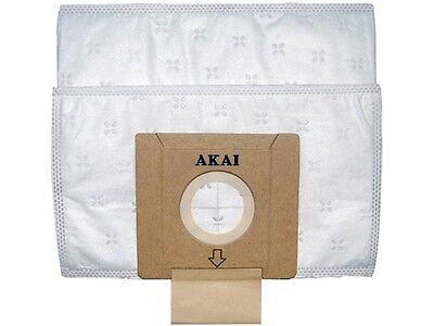 Lot 10 sacs aspirateur Akai AVB-7084 Neuf AXVC5200, AXVC5201, AXVC5202, AXVC5203
