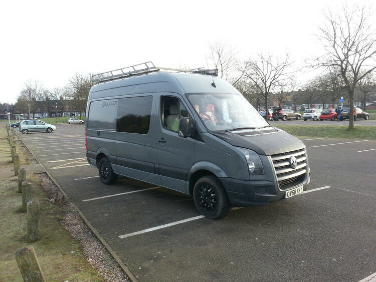 Vw Crafter Camper Van Mwb 12 Mths Mot High Spec Low Miles