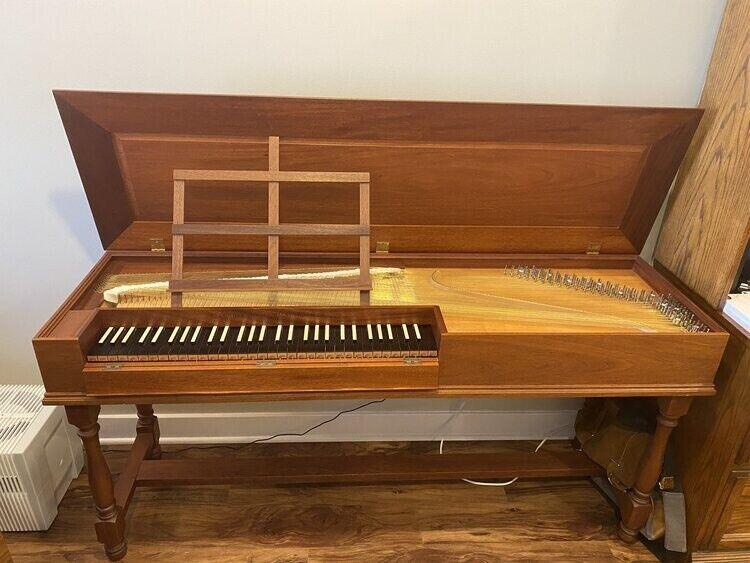Zuckermann Unfretted Clavichord VI