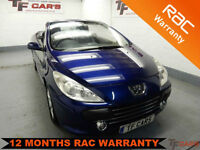 Peugeot 307 CC Convertible 2.0 Coupe S - FINANCE FROM ONLY £14 PER WEEK!