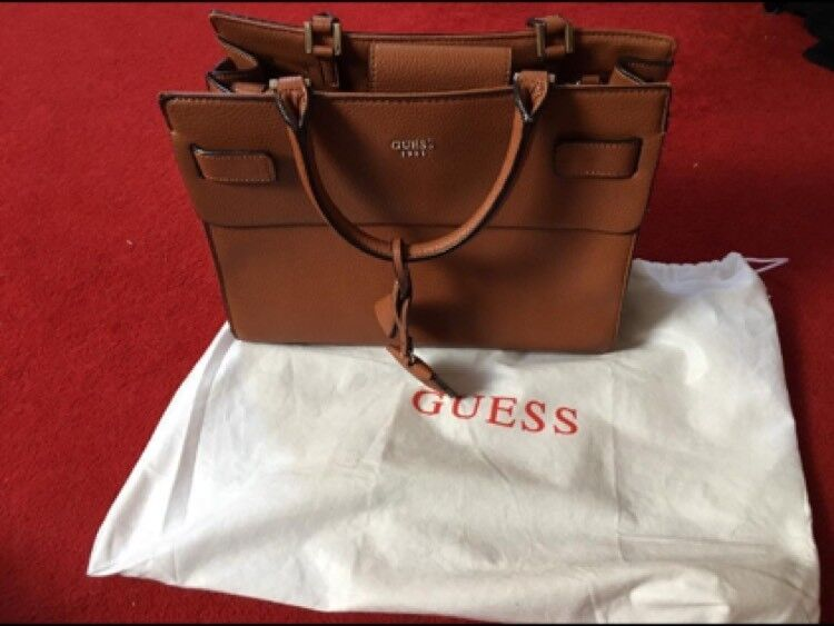 Genuine Leather Guess Bag