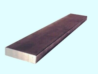 Steel Flat Bar Stock 14 X 2 X 6 Ft. Rectangular Unpolished 1018 Alloy