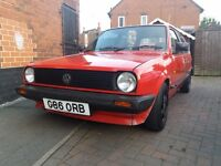 Mk2 polo project with mot