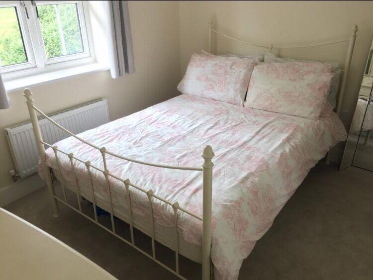 e818fff49cc John Lewis Metal Bed Frame   Mattress