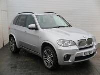 2012 BMW X5 2012 12 BMW X5 3.0D XDrive 40D M Sport Auto 306BHP Diesel silver Aut