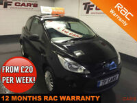 2009 Ford Ka 1.2 Studio 3 door - £30 ROAD TAX! FINANCE FROM £21 PER WEEK!