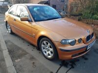 IMMACULATE one off 2002 BMW 316Ti Se Compact low miles and long mot