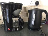 Coffee maker + kettle