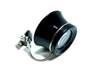 Uhrmacher Augenlupe Brillenträger Uhrmacherlupe Okular 10-fache Vergrößerung NEU