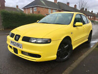 For Sale SEAT Leon Cupra,mapped to approx 240BHP,long MOT end of Dec 2017,service history,HPi clear!