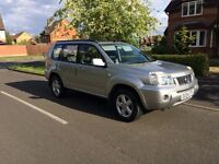 2004 NISSAN X-TRAIL 2.2 DCI SVE 4X4 DIESEL 12 MONTHS MOT ONLY 98k FULL SERVICE HISTORY