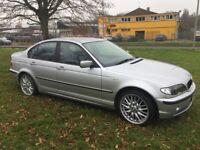 BMW E46 320d SE 106k MOT LEATHER MV1s good mpg