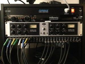 UNIVERSAL AUDIO 2-1176LN UAD COMPRESSOR LIMITING AMPLIFIER