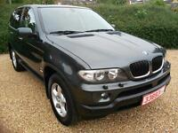 LHD 2005 BMW X5 3.0 DIESEL AUTOMATIC, GREAT SPEC - LEFT HAND DRIVE