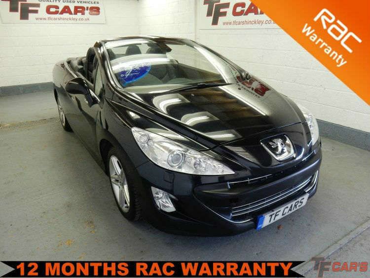 2009 59 reg Peugeot 308 CC Convertible 1.6 THP SE -FINANCE FROM £26 PER WEEK