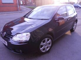 GOLF 1.6 FSI 2008 ONLY 27,000 MILES! - 1 YEAR'S MOT, GOOD SERVICE HISTORY.