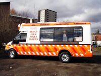 Wanted transit soft ice cream van