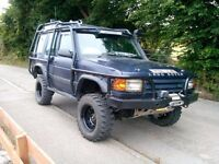 Land rover discovery 300tdi, huge spec, may swap for car!