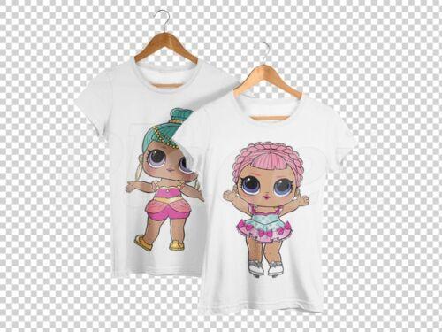 Iron On Transfer Lol Surprise Doll Dolls Bon Bon Lil
