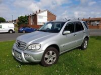MERCEDES ML 270 SE 2005 7 SEATER
