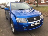 Suzuki Grand Vitara 1.9 DDiS 4X4 very tidy car sell or swap DVD Stereo with reverse cam