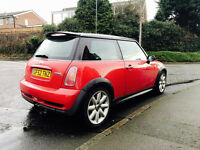 For sale top spec Mini Cooper S, supercharged engine,163 bhp, panroof,leathers!Located in Nottingham