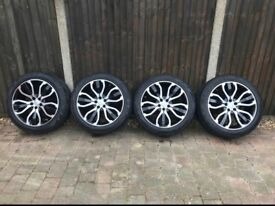 "Rang Rover Sport 21"" Alloys With New All Season Tyres"