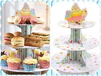 3 Tier Cupcake Stand - Buy One Get One Free