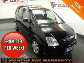 2010 Vauxhall/Opel Meriva -FULL SERVICE HISTORY! FINANCE FROM ONLY £19 PER WEEK!
