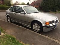 BMW 316 compact only done 75000 and full history swap or px welcome