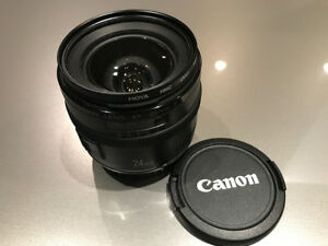 Canon 24mm Lens - EF 24mm f/2.8 IS USM Lens